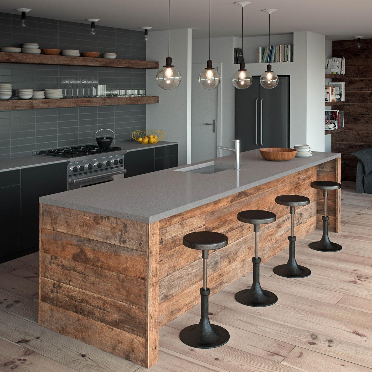 Black Streak Kitchen